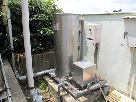 酸性井戸水のpH中和装置を設置(井戸水の中和処理)